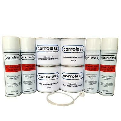 CORROLESS Rust Proofing 4x4 Land Range Rover Defender Chassis Rust Killer Kit