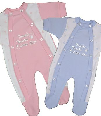 BabyPrem Premature Tiny Baby Clothes Boys Girls Sleepsuit Babygrow One-Piece