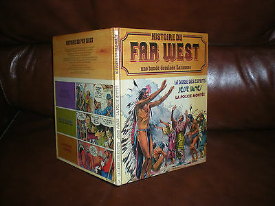 Histoire Du Far West En Bd N°7 - Edition Originale 1981 Larousse Cartonnee