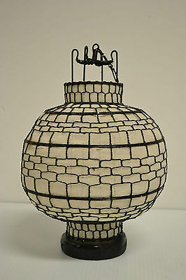 Nice Chinese White Round Fabric Lantern Feng Shui Home Decor Party Gift AUG12-03