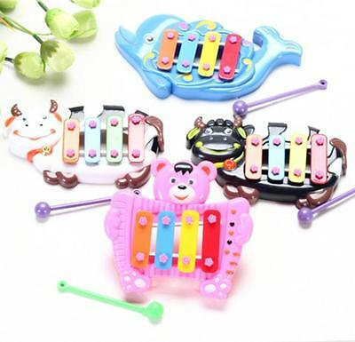 Musical Educational Animal Bell Developmental Baby Toy 4 Tone for Above 6 Month