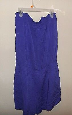22ee4cb6b8d6 Deep Purple sleeveless Romper Shorts Outfit New Cato med resort cruise wear