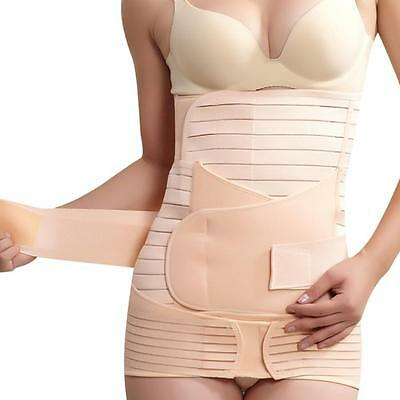 3 In 1 Breathable Elastic Postpartum Postnatal Recovery Support Girdle Belt New