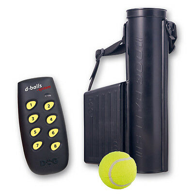 DogTrace D-Balls Remote Control Tennis Ball Dropper Launcher Thrower Cannon Dog