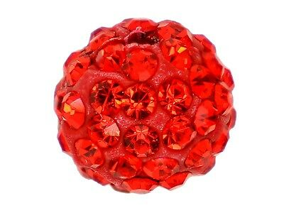 10 x Perle Rouge 8mm