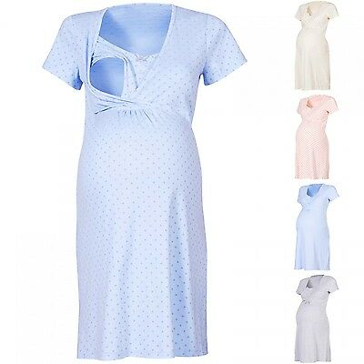 Happy Mama Women's Maternity Hospital Gown Nightie for Labour & Birth. 147p