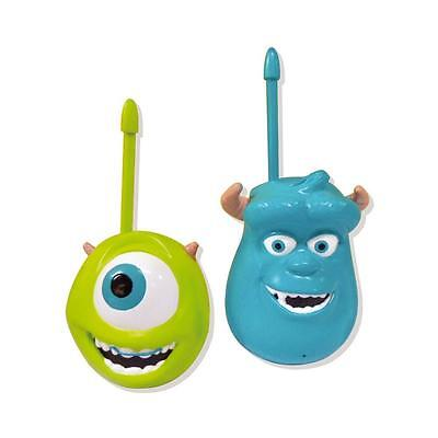 New Disney Monsters University Mike & Sulley Walkie Talkie Set