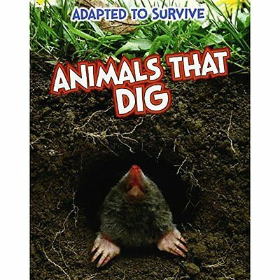 Adapted to Survive Animals That Dig Royston Raintree Paperback / . 9781406270907