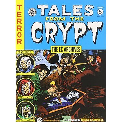 EC Archives Tales from Crypt Volume 5 Various Graphic novels Dark. 9781616554866