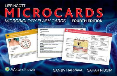 Lippincott Microcards: Microbiology Flash Cards by Sanjiv Harpavat (English) Fre