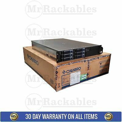NEW 2U CHENBRO SATA Server Rackmount Case Chassis 6 Hard Drive Bay RM21406-460