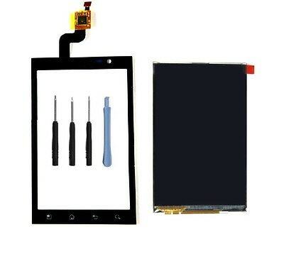 For LG Optimus 3D P920 P925 Front Touch Screen Glass lens Digitizer +LCD Display