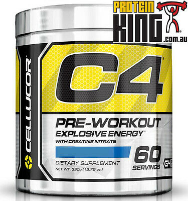Cellucor C4 60 Serve Pre-Workout All Flavours New G4 Series Extreme Energy Focus