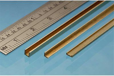 ALBION ALLOYS A2 Laiton - Brass Angle 2 x 2 mm (1p.)