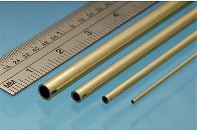 ALBION ALLOYS BT9M Laiton - Brass Tube  9 x 0.45 mm (2p.)