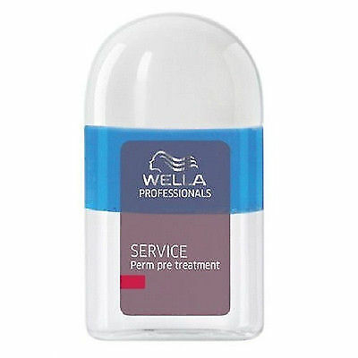 Wella service Pre Perm Treatment 12 x 18ml phial