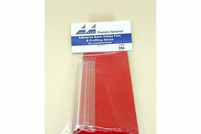 FLEX-I-FILE ALBION FF354 Adhesive Back Hobby Film and Profiling Sticks