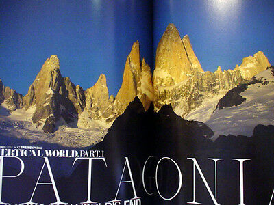 Vertical World's Patagonia Obelisk California Book Wilderness