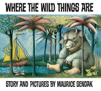 Where the Wild Things Are by Maurice Sendak (English) Paperback Book Free Shippi