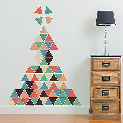 Decoration Decal Home Family Interior Triangles Wall Stickers Art 88cm x 74cm