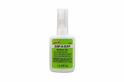 ZAP PT02 Colle Zap-A-Gap CA+ Verte Medium Viscosity 28.3g