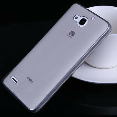 For Huawei Honor 3X G750 Ultra Thin Clear Invisible Gel Skin Case Back Cover