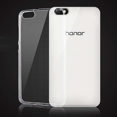 2x Ultra Thin Clear Invisible Gel Skin Case Back Cover For Huawei Honor 4X