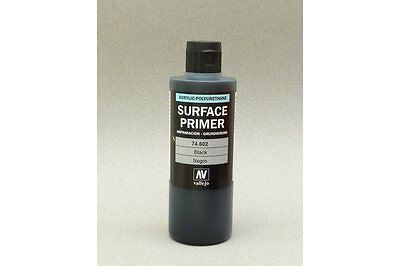 VALLEJO Model Color 200ml 74.602 Surface Primer Noir - Black