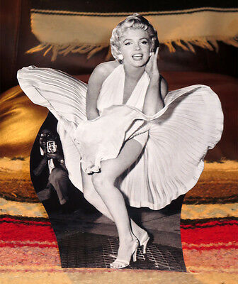 """Marilyn Monroe Movie Actress """"The Seven Year Itch"""" Tabletop Standee 10"""" Tall"""