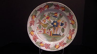 A Deep Delft Polychrome Charger