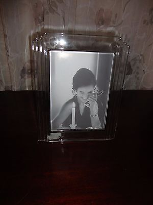 "Waterford Crystal Picture Photo Frame 5"" X 7"""