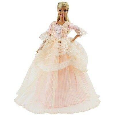 Princess Evening Wedding Party Dress Clothes Gown Outfit For Barbie Doll Gift