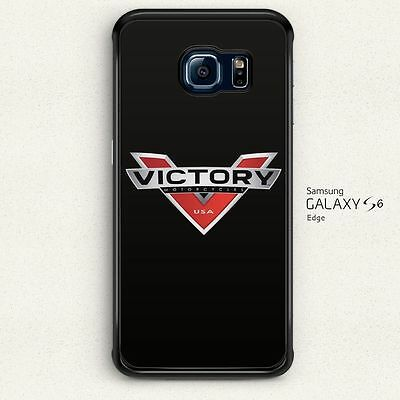 Victory Motorcycles Logo Hard Cover for Samsung Galaxy S6 Edge Case