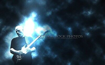 "David Gilmour Pink Floyd Poster Photo 12x18"" Ltd Ed Studio Design Art Print 120"
