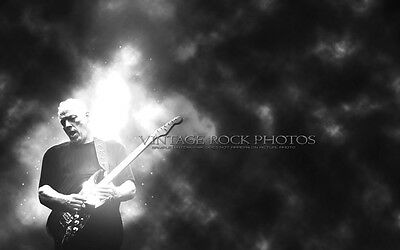 "David Gilmour Pink Floyd Poster Photo 12x18"" Ltd Ed Studio Design Art Print 120b"