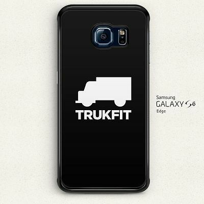 Trukfit Logo on Behance Hard Case Cover for Samsung Galaxy S6 Edge