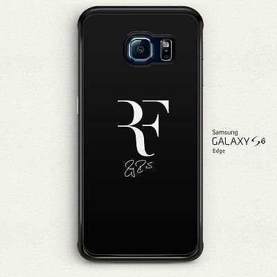 Fun Roger Federer Logo Fans Hard Case Cover for Samsung Galaxy S6 Edge