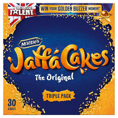 McVities Jaffa Cakes Triple Pack 36 Cakes - Sold Worldwide from UK