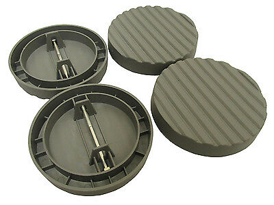 4 pack CARAVAN DELUXE JACK PADS with MOAT TO STOP ANTS/INSECT corner steady foot