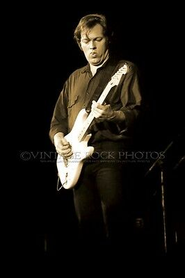 David Gilmour Pink Floyd Photo 8x12 or 8x10 inch 1987 Live Concert Pro Print 57s