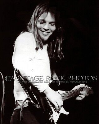David Gilmour Pink Floyd Photo 8x10 or 8x12 inch 1970's Live Concert Pro Print 3