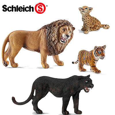 SCHLEICH World of Nature BIG CATS - Choose from 15 different Tigers etc with Tag