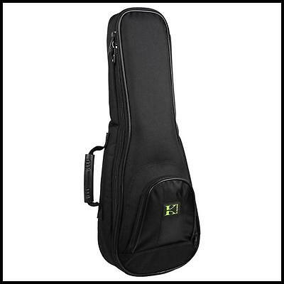 Kaces KUKC-1 heavy Duty Overstuffed padded Concert Ukulele Gig Bag