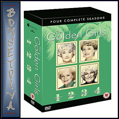 Golden Girls - Complete Seasons 1 2 3 & 4 Collection *Brand New Dvd Boxset*