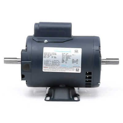 1/2 hp 1725 RPM 56Z 115/208-230V Double Shafted Power Tool Motor Leeson # 101781