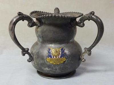 Rare Three Handled Dieges & Clust 1905 Patrolman's Asso. Police T & F Trophy WOW