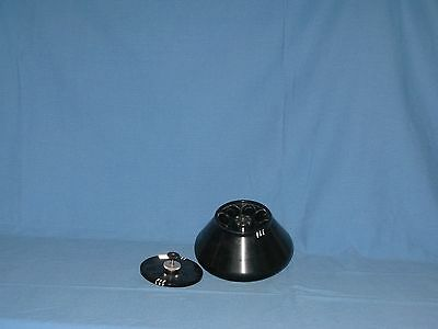 Sorvall Instruments SS-34 Fixed Angle Centrifuge Rotor w/ Lid - BLACK