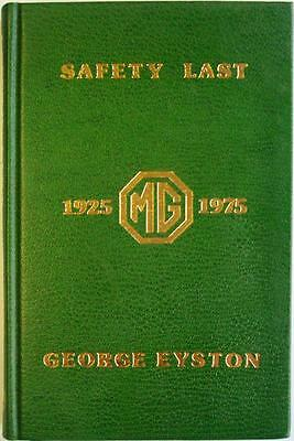 Safety Last George Eyston Limited Edition Signed Car Book