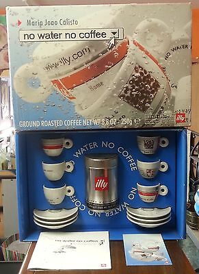 26907 Tazzine Illy Collection - Maria Joao Calisto - No water no coffee