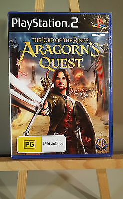 The Lord of the Rings Aragorn's Quest - PS2 - PAL - NEW & SEALED - FREE SHIPPING